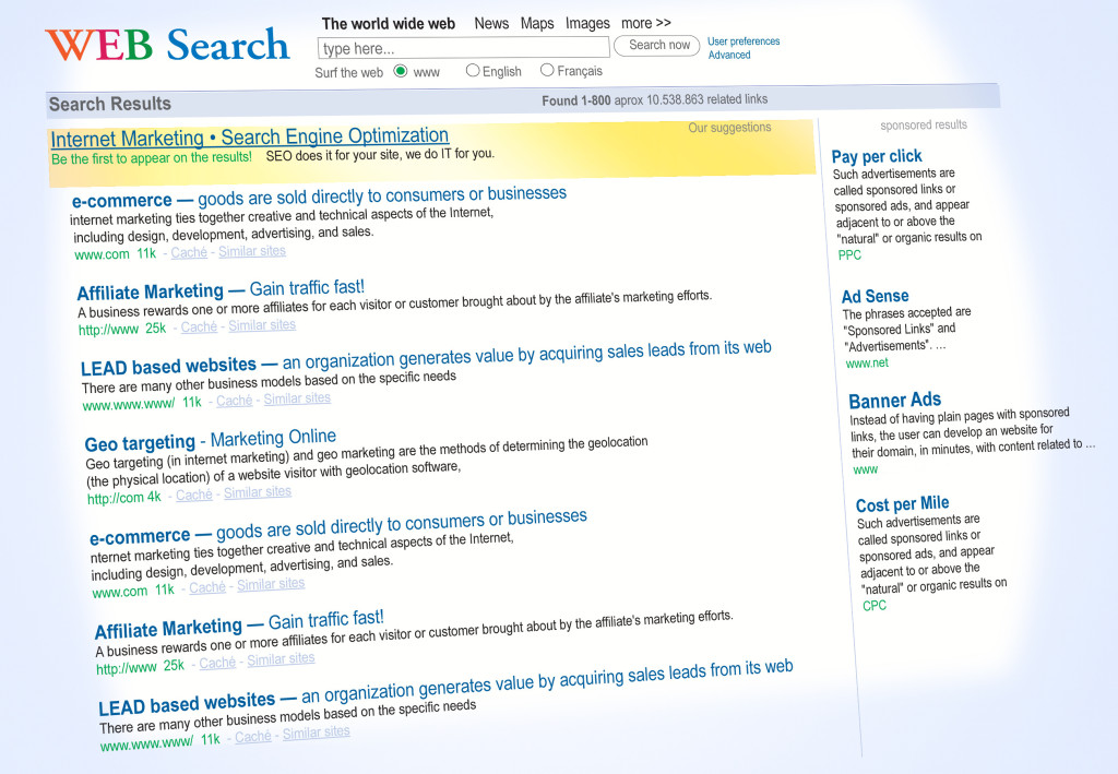 Internet Web Search