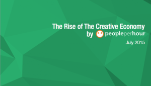 the rise of the creative industries by People per hour